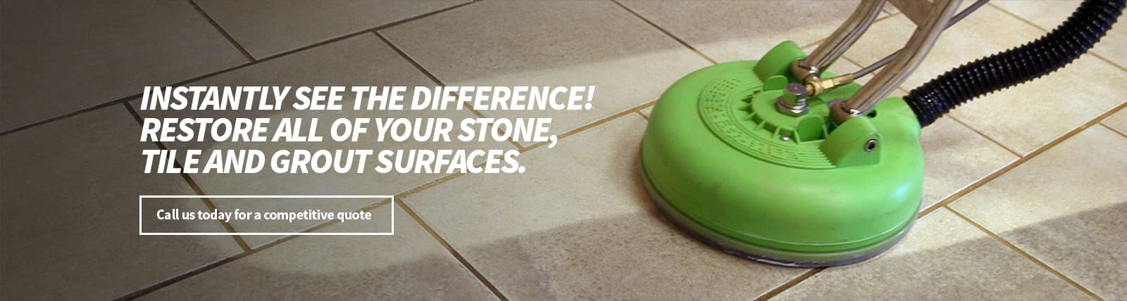 Restore Stone, Tile and Grout Surfaces